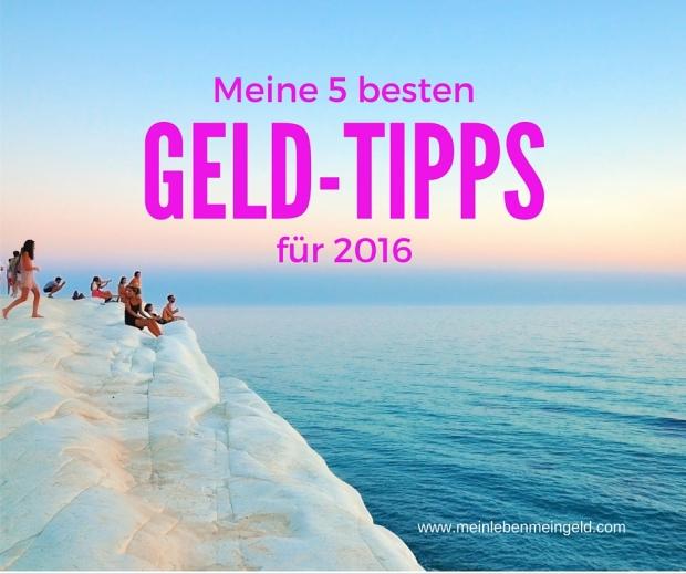 Geld-Tipps für 2016